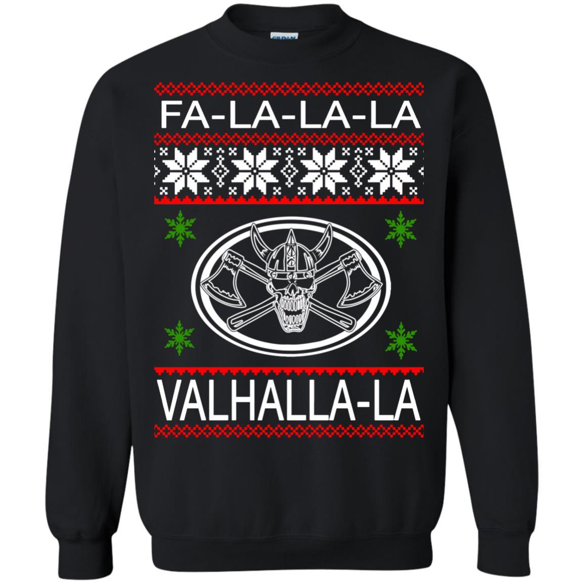 image 2931 - Valhalla Viking Christmas Sweater, Hoodie, Long Sleeve