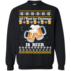 image 3043 300x300 - All I Want For Christmas Is Beer Sweater, Ugly Sweatshirts