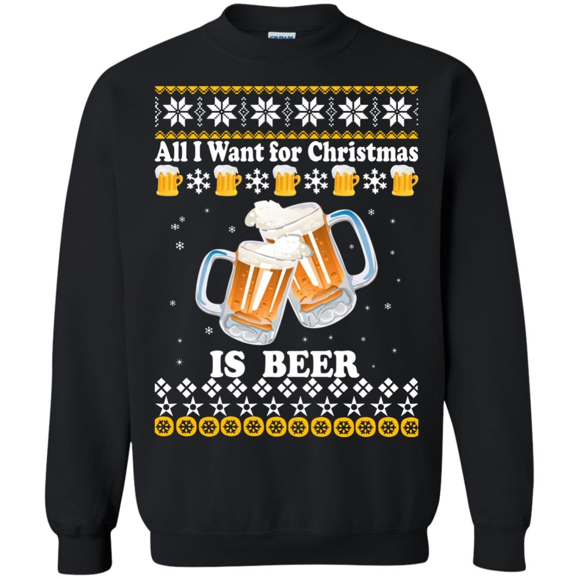 image 3043 - All I Want For Christmas Is Beer Sweater, Ugly Sweatshirts