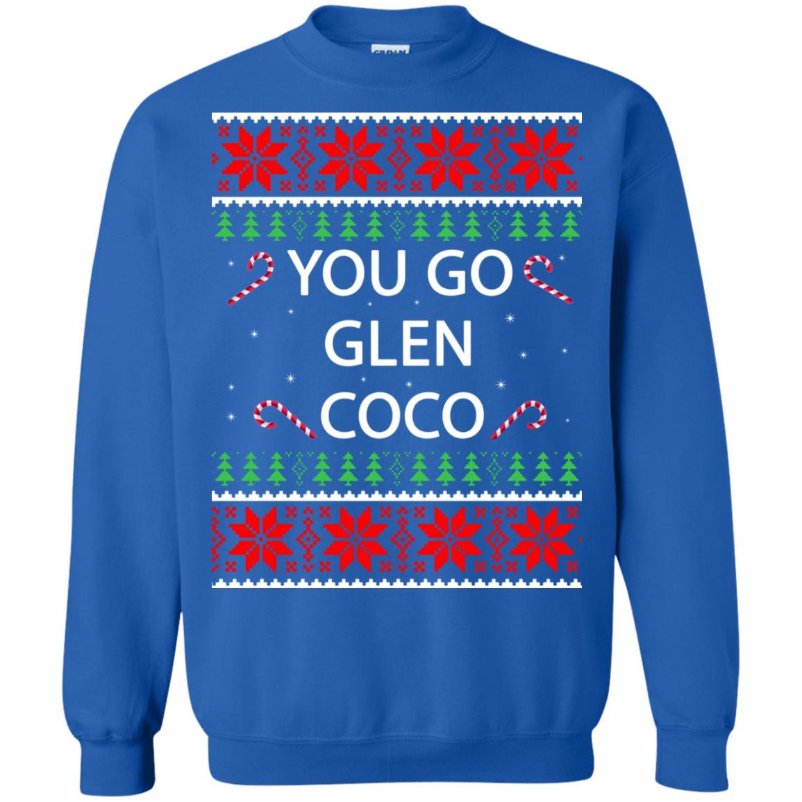 image 3157 - You Go Glen Coco Sweatshirts, Hoodie, Tank