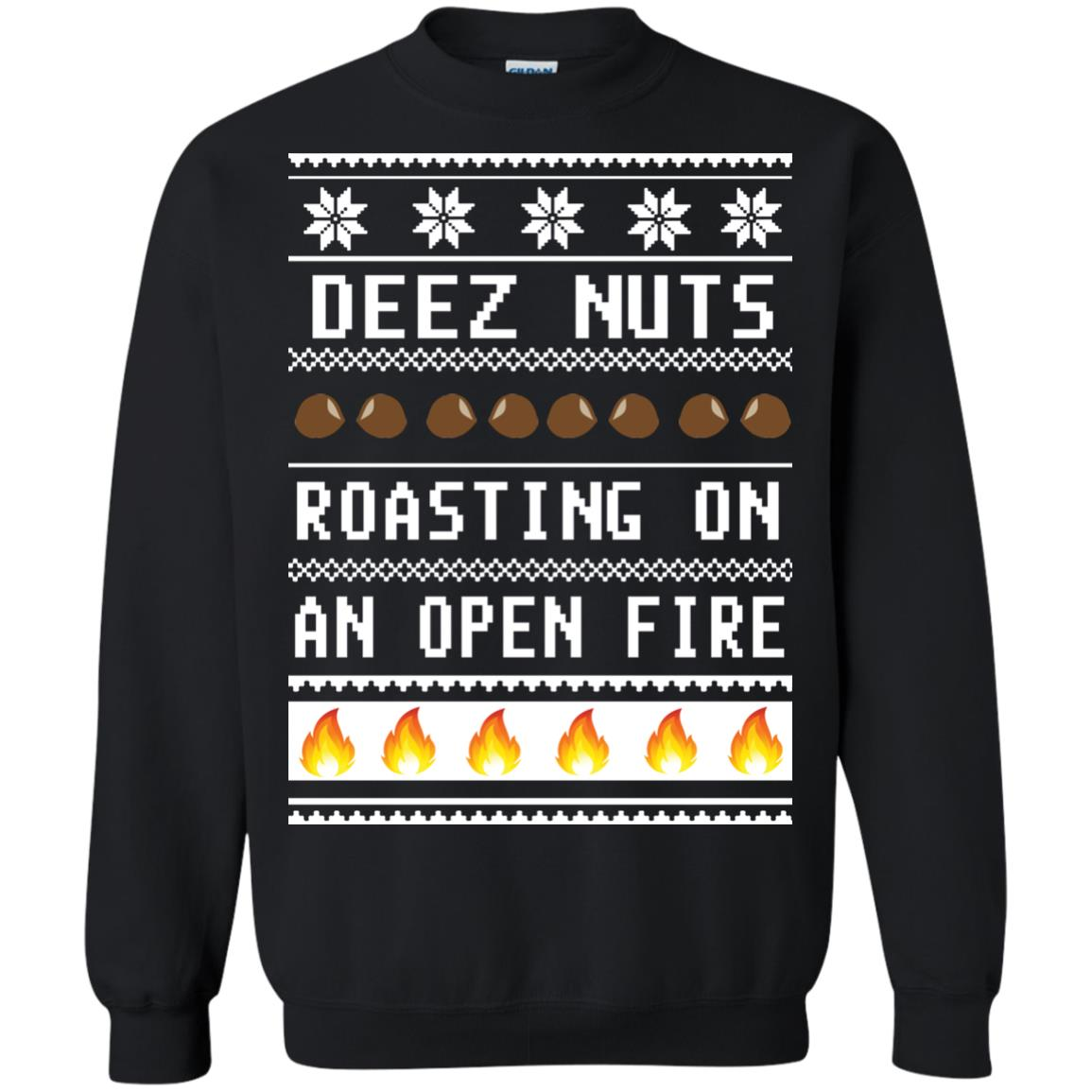 nuts roasting on a open fire