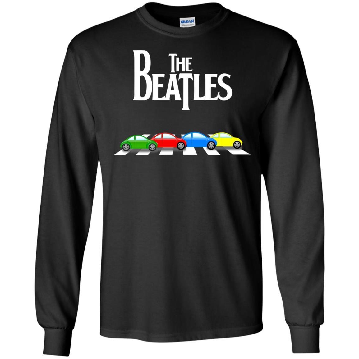 image 328 - The Beatles cars shirt, hoodie, tank