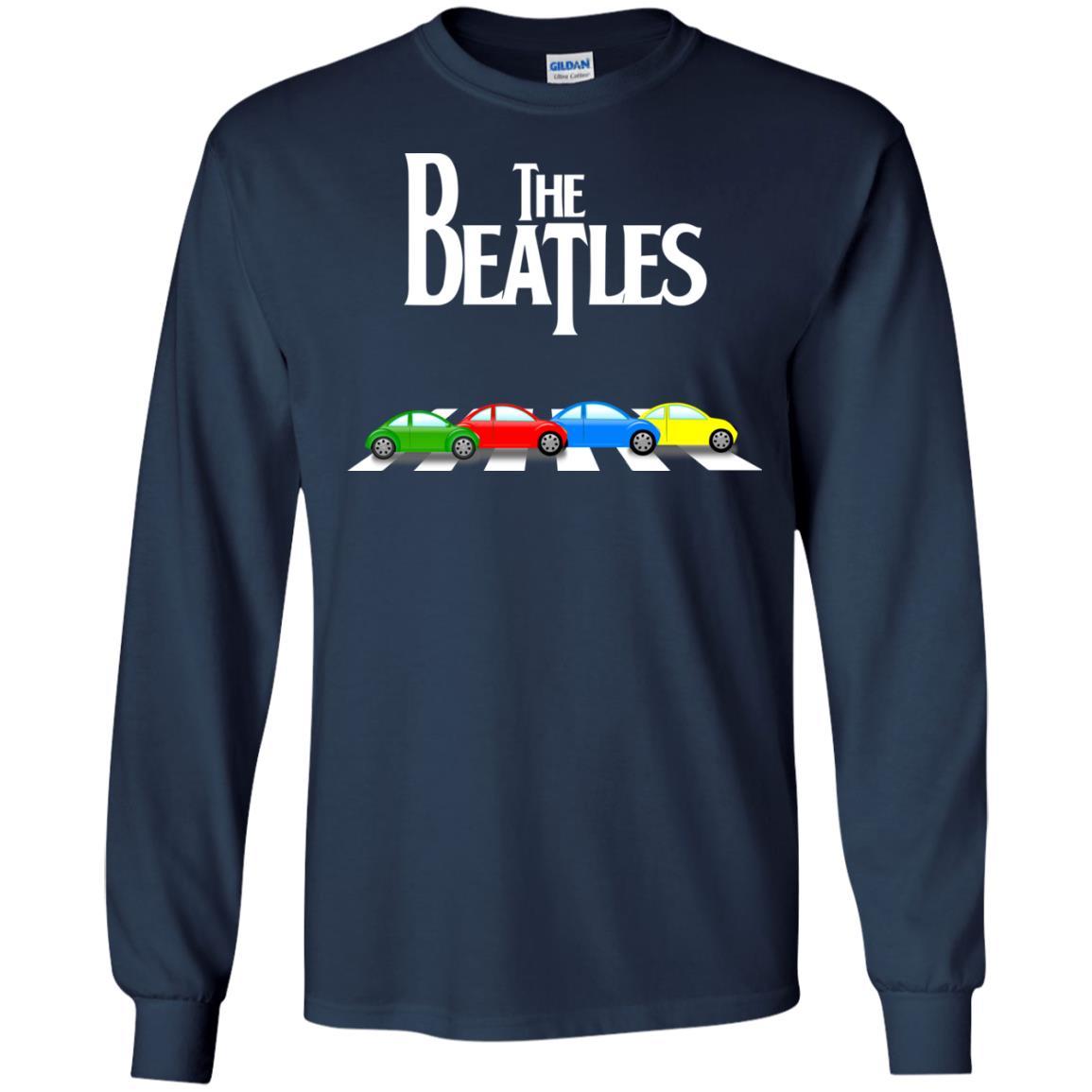 image 329 - The Beatles cars shirt, hoodie, tank