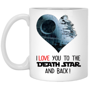 image 34 300x300 - I love you to the Death Star and back mug