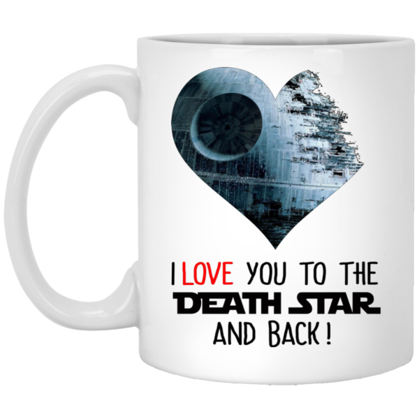 image 34 600x600 - I love you to the Death Star and back mug