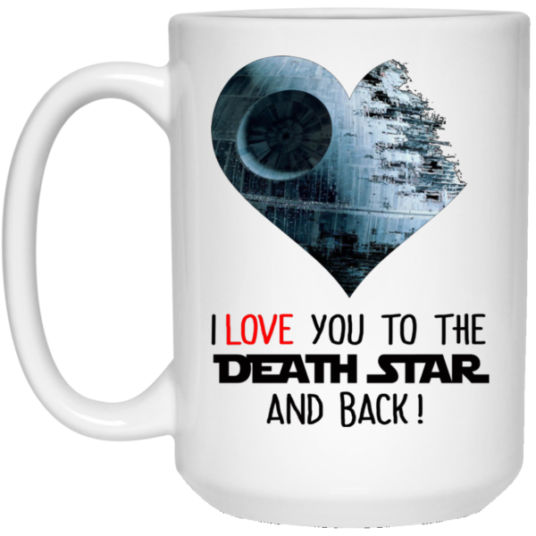 image 35 600x600 - I love you to the Death Star and back mug