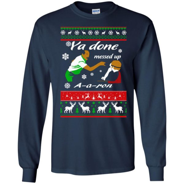 image 497 600x600 - Ya Done Messed Up A A Ron Ugly Sweater, Hoodie