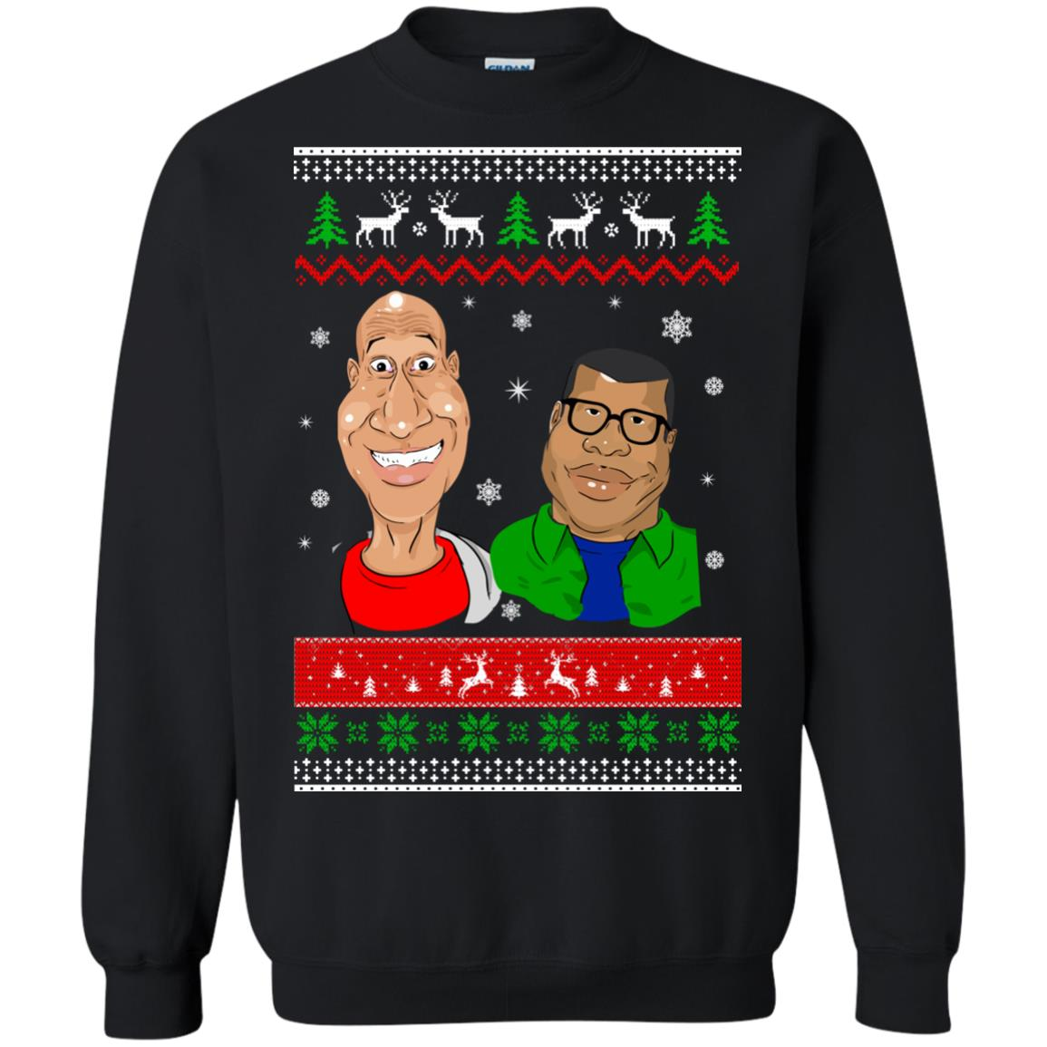 image 524 - Key and Peele Cartoon Christmas Ugly Sweater