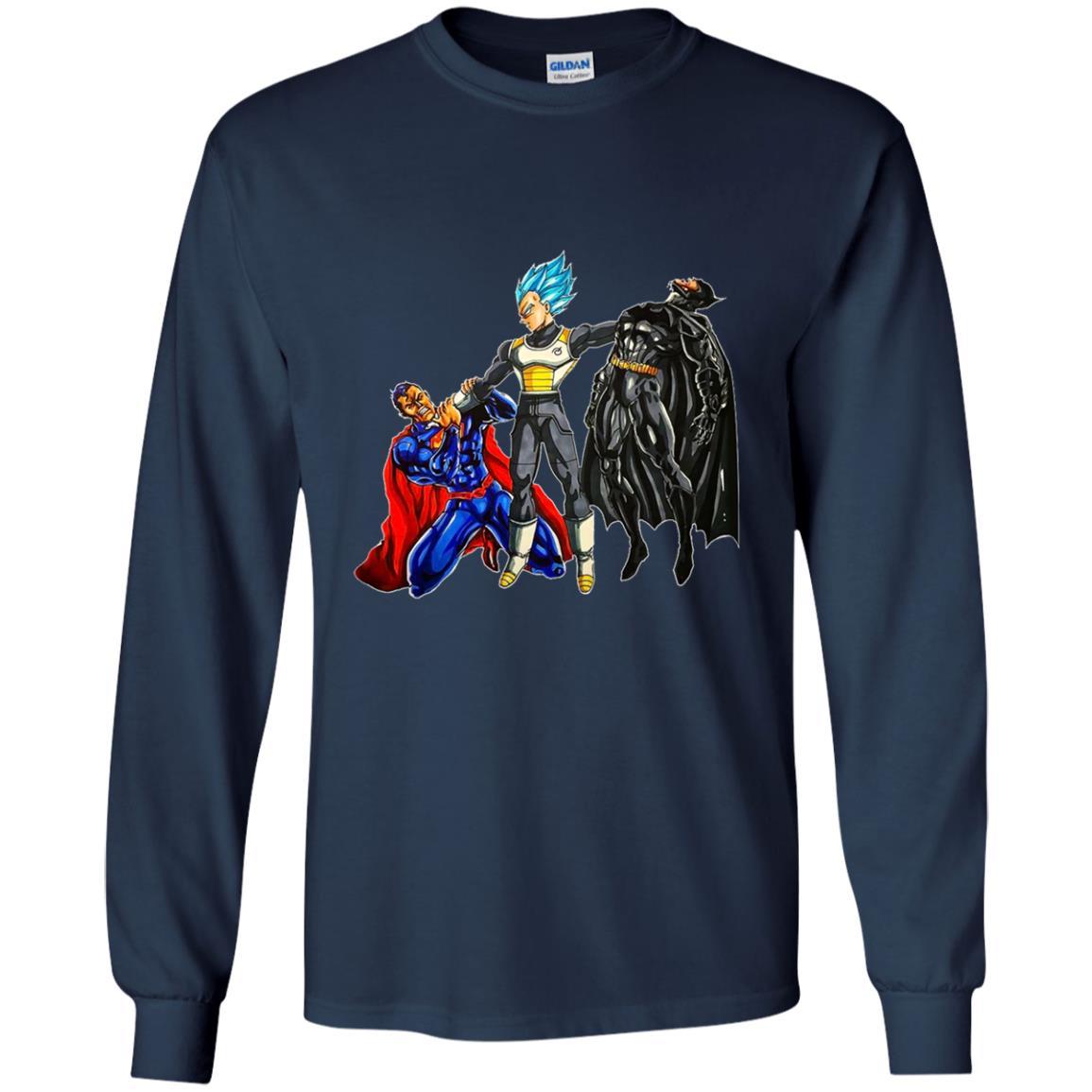 image 53 - Vegeta Superman Batman shirt, hoodie, sweater