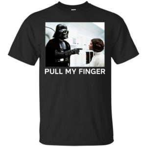 image 530 300x300 - Star Wars Darth Vader & Princess Leia: Pull My Finger shirt