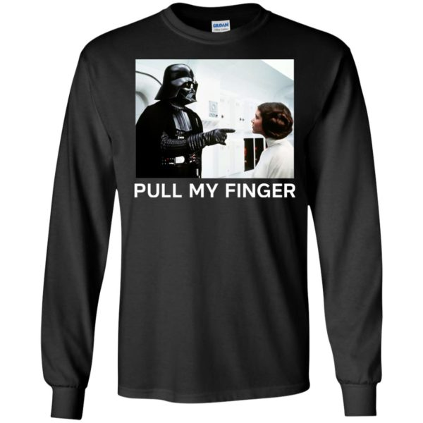 image 533 600x600 - Star Wars Darth Vader & Princess Leia: Pull My Finger shirt