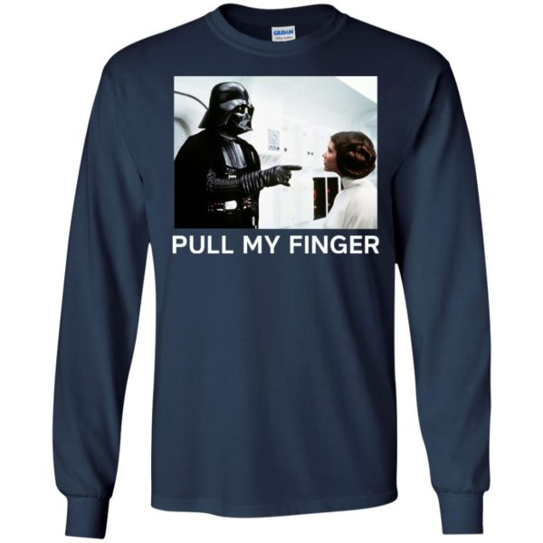 image 534 600x600 - Star Wars Darth Vader & Princess Leia: Pull My Finger shirt
