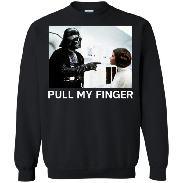 image 537 600x600 - Star Wars Darth Vader & Princess Leia: Pull My Finger shirt