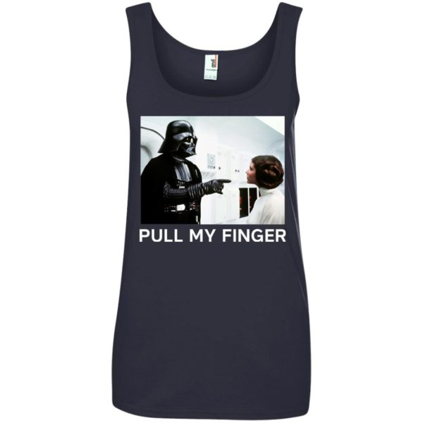 image 540 600x600 - Star Wars Darth Vader & Princess Leia: Pull My Finger shirt