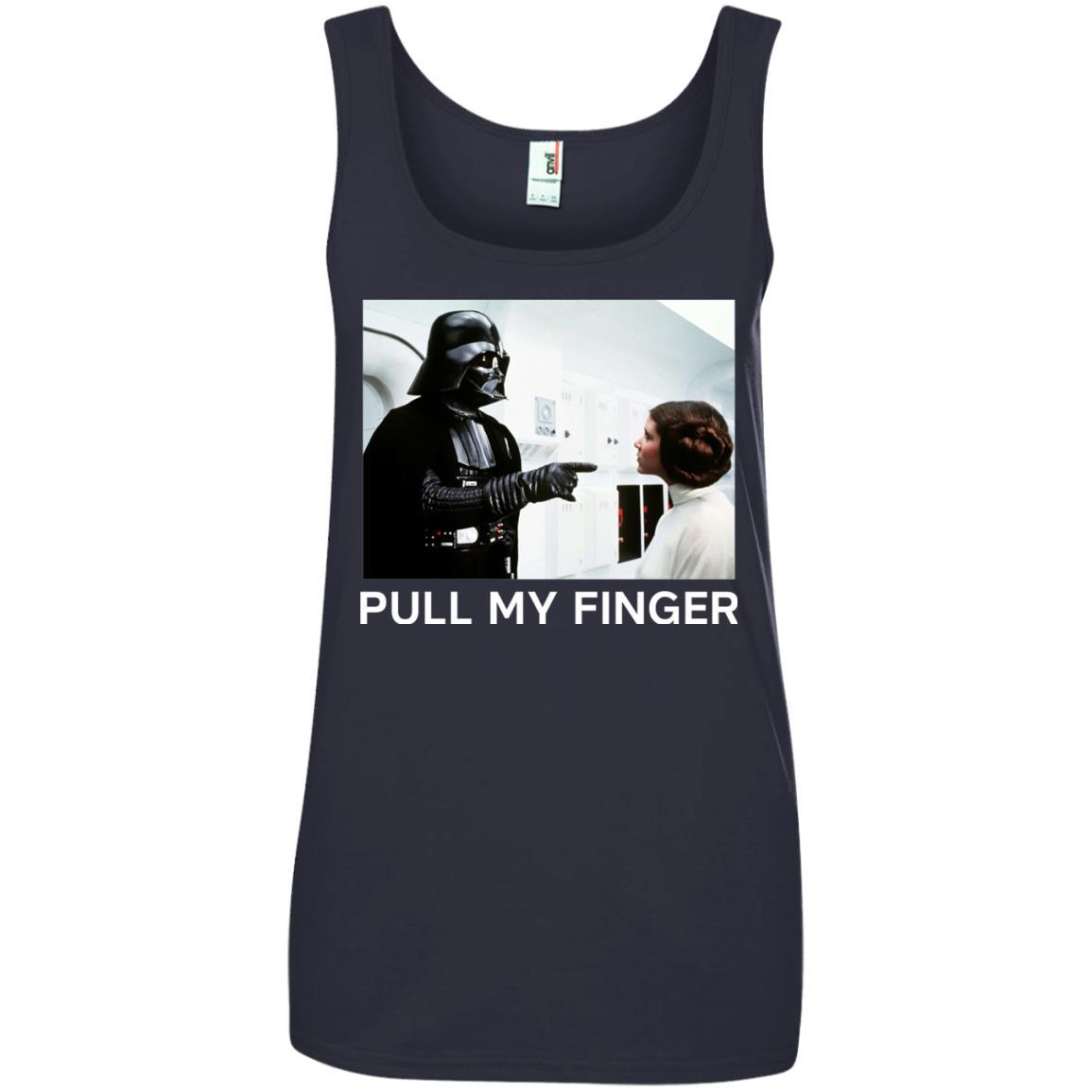 image 540 - Star Wars Darth Vader & Princess Leia: Pull My Finger shirt