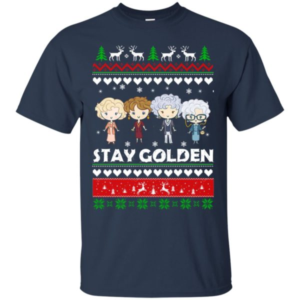 image 700 600x600 - Golden Girls Stay Golden Ugly Christmas Sweater, Hoodie