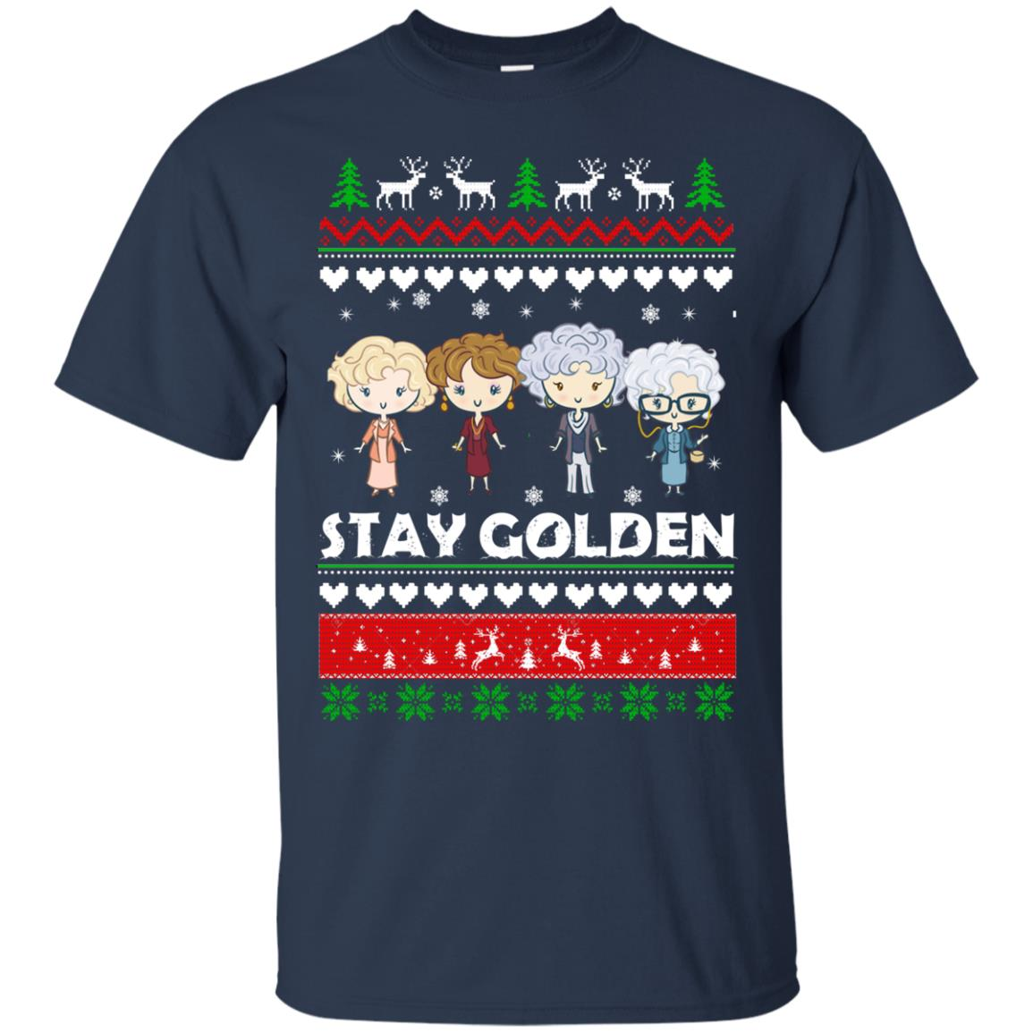 image 700 - Golden Girls Stay Golden Ugly Christmas Sweater, Hoodie