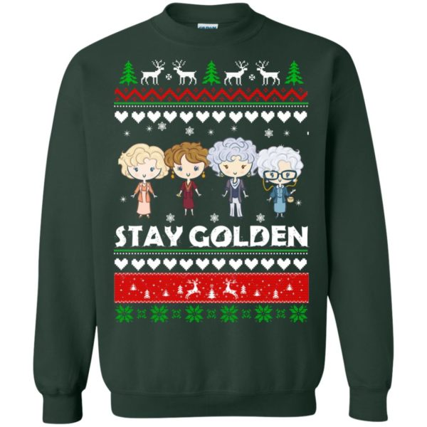 image 708 600x600 - Golden Girls Stay Golden Ugly Christmas Sweater, Hoodie