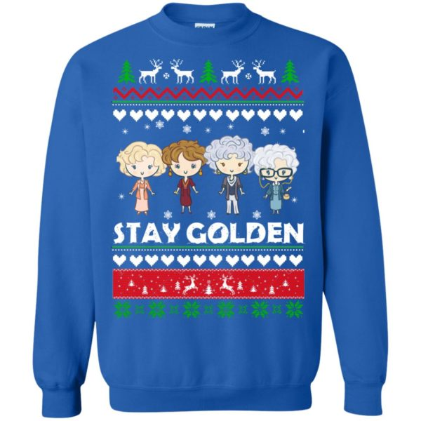 image 709 600x600 - Golden Girls Stay Golden Ugly Christmas Sweater, Hoodie
