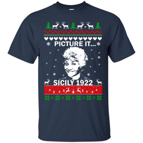 image 712 600x600 - Sophia: Picture it! Sicily 1922 Christmas Sweater, Long Sleeve