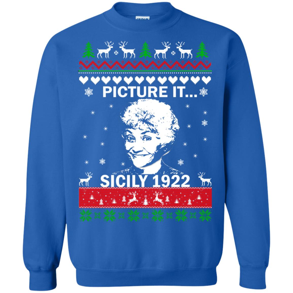 image 721 - Sophia: Picture it! Sicily 1922 Christmas Sweater, Long Sleeve