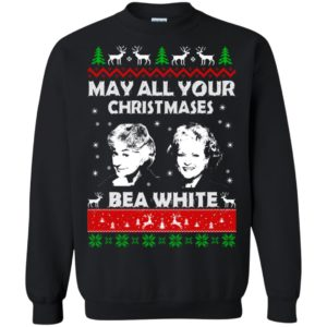 image 729 300x300 - May all your Christmases Bea White Ugly Sweater, Hoodie