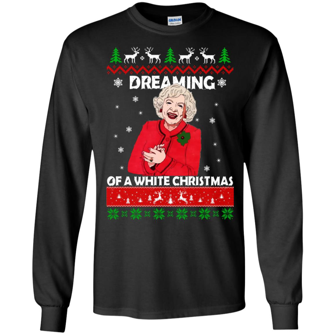image 737 - Betty White: Dreaming of a White Christmas Sweater, Hoodie