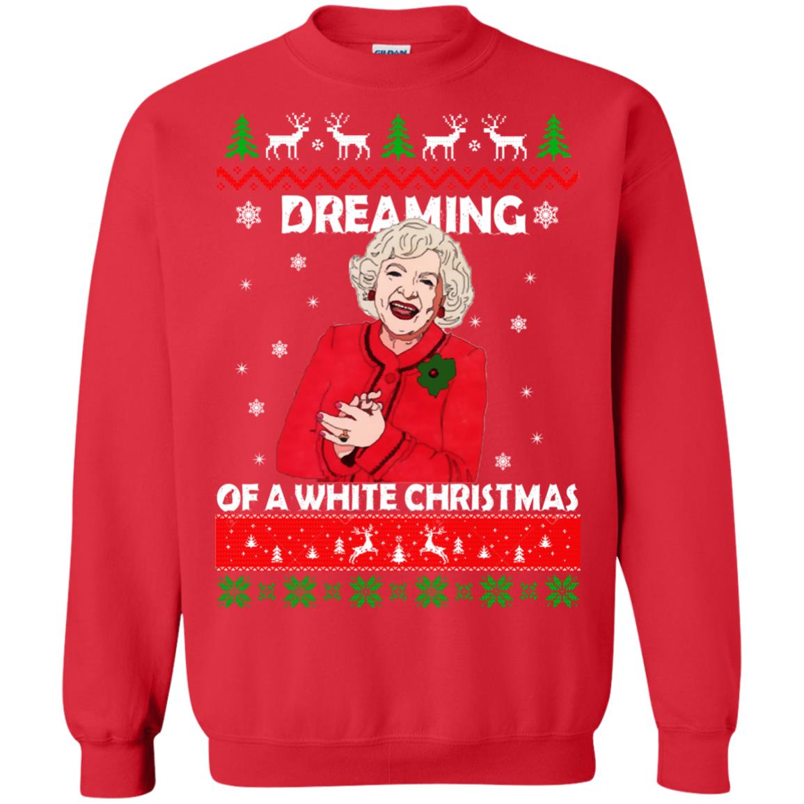 image 743 - Betty White: Dreaming of a White Christmas Sweater, Hoodie