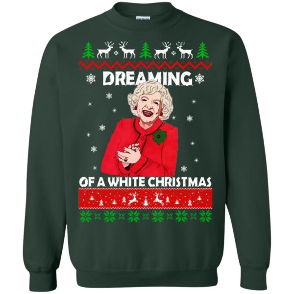 image 744 600x600 - Betty White: Dreaming of a White Christmas Sweater, Hoodie