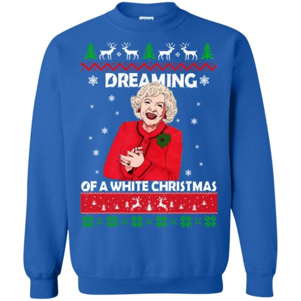 image 745 600x600 - Betty White: Dreaming of a White Christmas Sweater, Hoodie