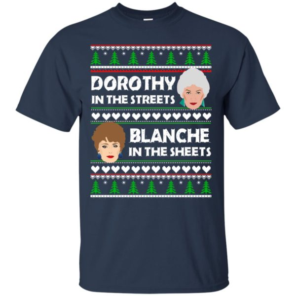 image 748 600x600 - Dorothy in the Streets Blanche in the Sheets Christmas Sweater