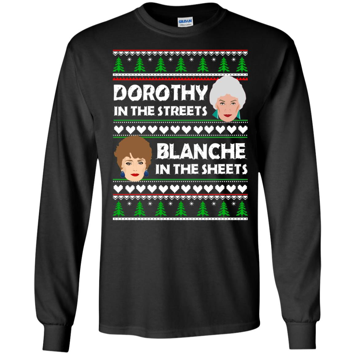 image 749 - Dorothy in the Streets Blanche in the Sheets Christmas Sweater