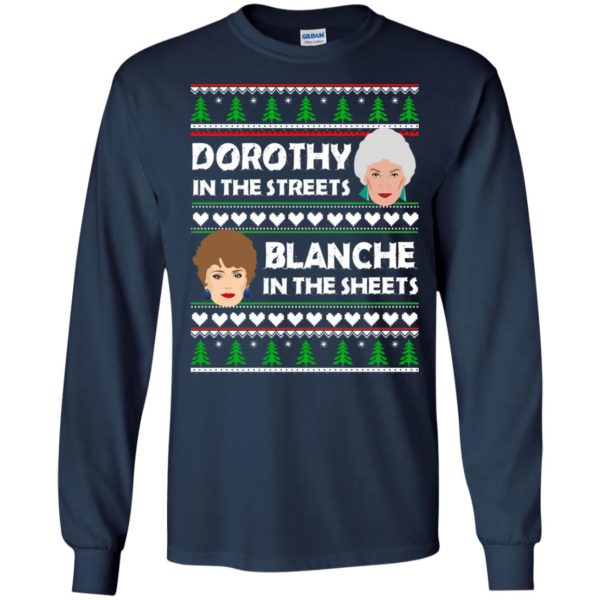 image 750 600x600 - Dorothy in the Streets Blanche in the Sheets Christmas Sweater