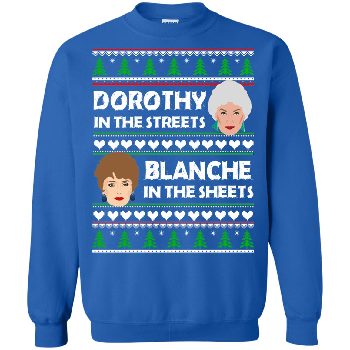 image 757 - Dorothy in the Streets Blanche in the Sheets Christmas Sweater