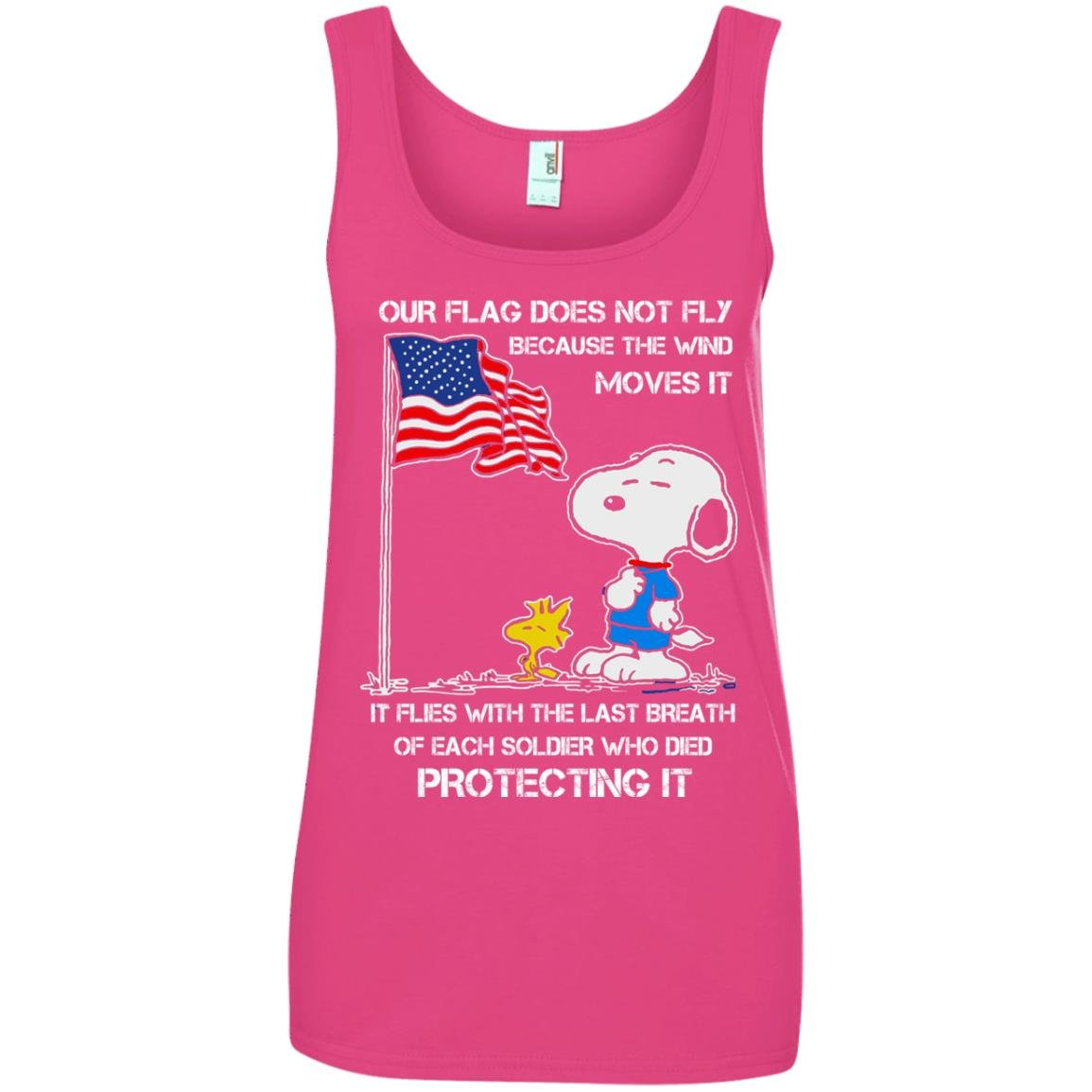 image 804 - Snoopy: Our flag does not fly because the wind moves it shirt, sweater
