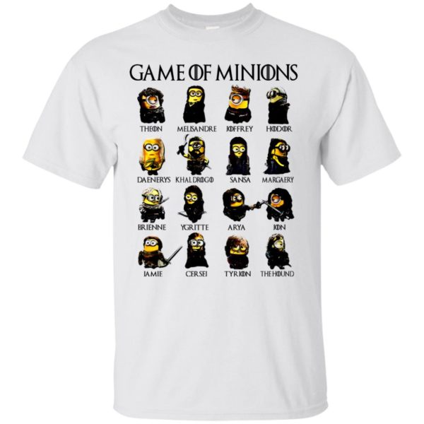 image 89 600x600 - Game of Thrones: Game of Minions t-shirt