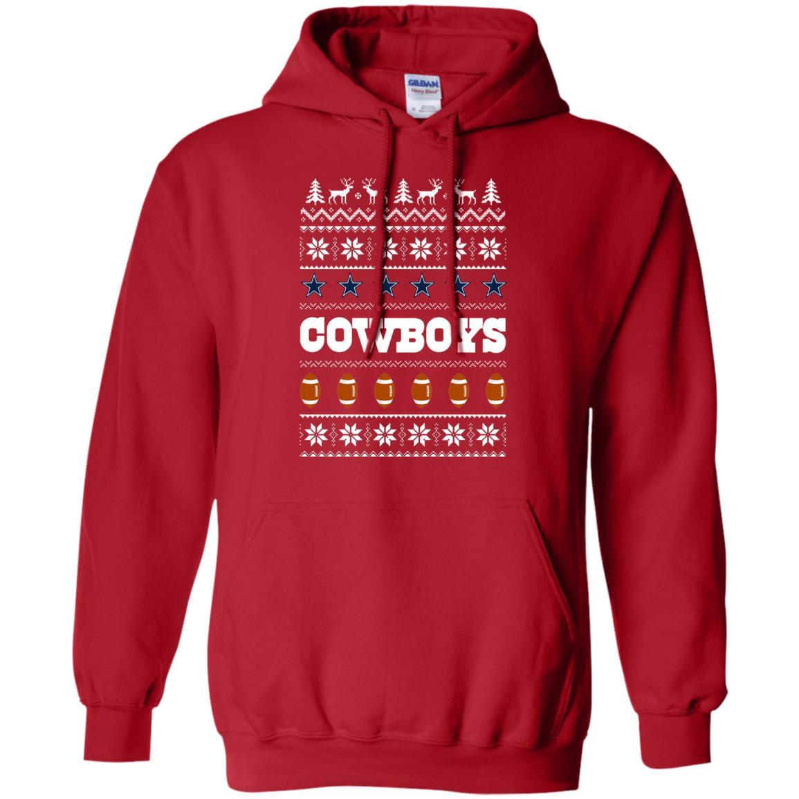 sale retailer 26b60 3bcdd CowBoys Christmas Ugly Sweater, Shirt, Hoodie
