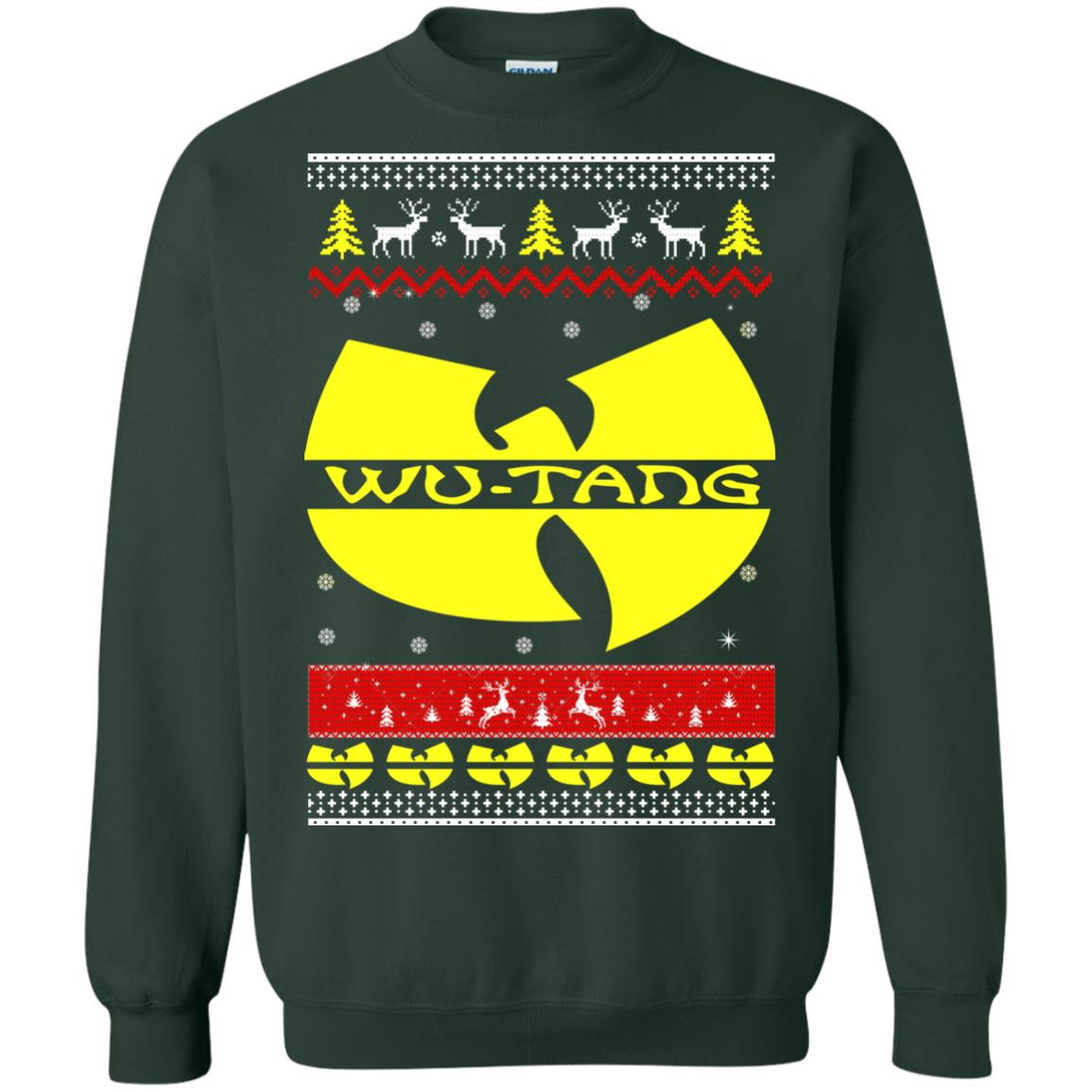 Wu Tang Christmas Sweater Ugly Sweatshirt Rockatee