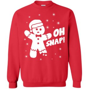 image 1312 300x300 - Oh Snap Gingerbread Christmas Sweater, Hoodie