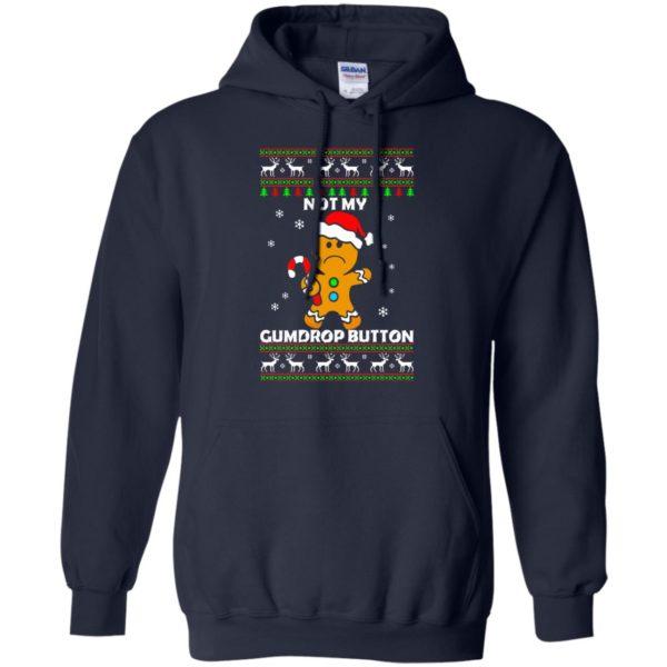 image 1320 600x600 - Not My Gumdrop Button Gingerbread Christmas Sweater, Shirt