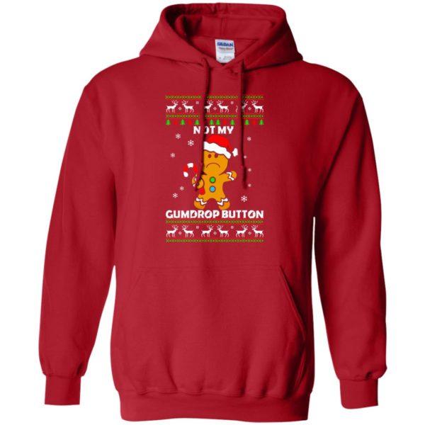image 1321 600x600 - Not My Gumdrop Button Gingerbread Christmas Sweater, Shirt