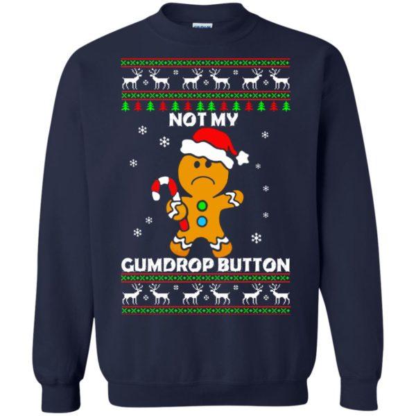 image 1323 600x600 - Not My Gumdrop Button Gingerbread Christmas Sweater, Shirt