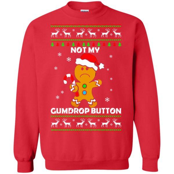 image 1324 600x600 - Not My Gumdrop Button Gingerbread Christmas Sweater, Shirt