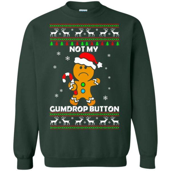 image 1325 600x600 - Not My Gumdrop Button Gingerbread Christmas Sweater, Shirt