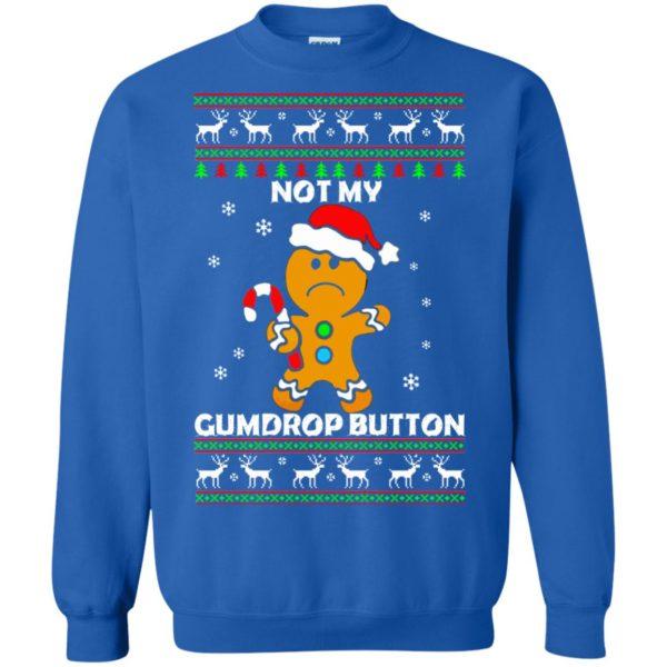 image 1326 600x600 - Not My Gumdrop Button Gingerbread Christmas Sweater, Shirt