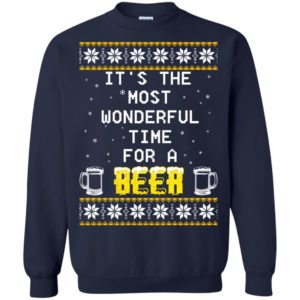 image 1347 300x300 - It's The Most Wonderful Time for a Beer Ugly Christmas Sweater, Shirt