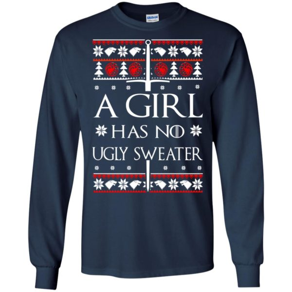 image 1501 600x600 - A Girl Has no Ugly Sweater, Shirt, Christmas Sweatshirt Game Of Thrones