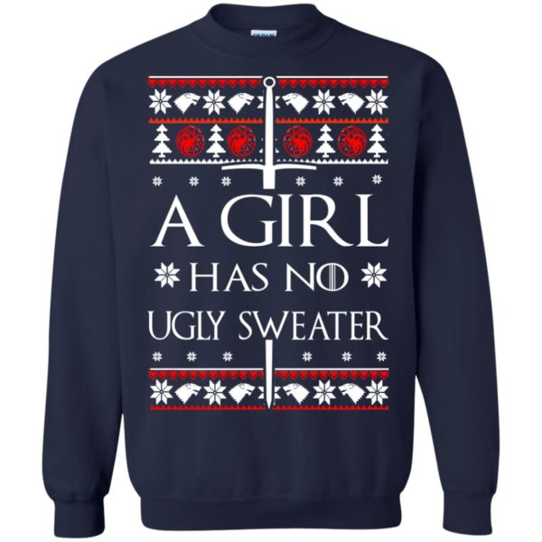 image 1506 600x600 - A Girl Has no Ugly Sweater, Shirt, Christmas Sweatshirt Game Of Thrones