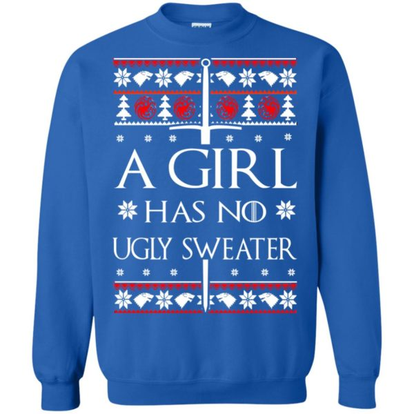 image 1509 600x600 - A Girl Has no Ugly Sweater, Shirt, Christmas Sweatshirt Game Of Thrones