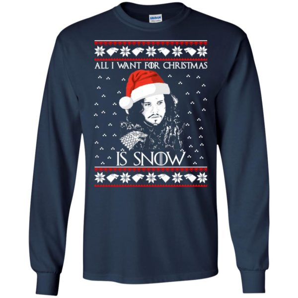 image 1577 600x600 - All I Want For Christmas is Snow Ugly Sweater, Christmas Sweatshirt